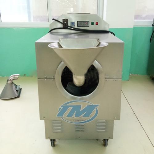 Máy rang hạt DCCZ 5-5 dùng điện (inox) 5-15 kg/mẻ (TMTP-N14)