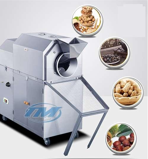 Máy rang hạt dùng điện 10-12 kg/mẻ (TMTP-N08)