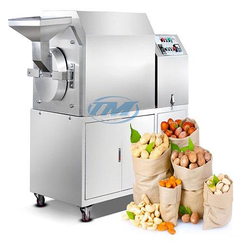 Máy rang hạt HH-100D dùng điện (Inox) 30-50 kg/h (TMTP-N19)