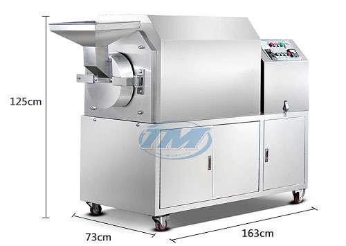Máy rang hạt HH-50D dùng điện (Inox) 30-50 kg/h (TMTP-N18)