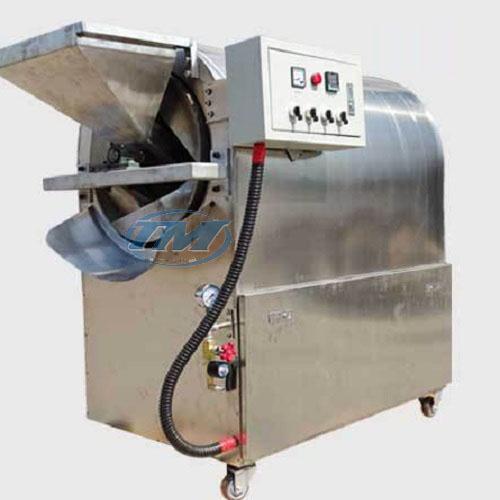 Máy rang hạt LQ50GX dùng gas (Inox) 20-25 kgmẻ (TMTP-N23)