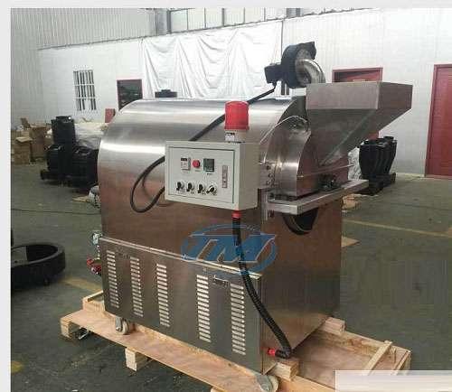 Máy rang hạt LQ50GX dùng gas (Inox) 35-50 kg/mẻ (TMTP-N23)