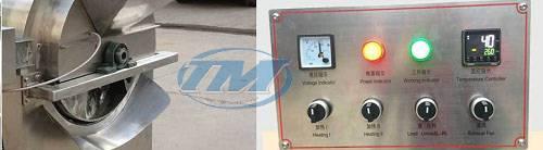 Máy rang hạt LQ50X dùng điện (Inox) 20-25 kg/mẻ (TMTP-N24)