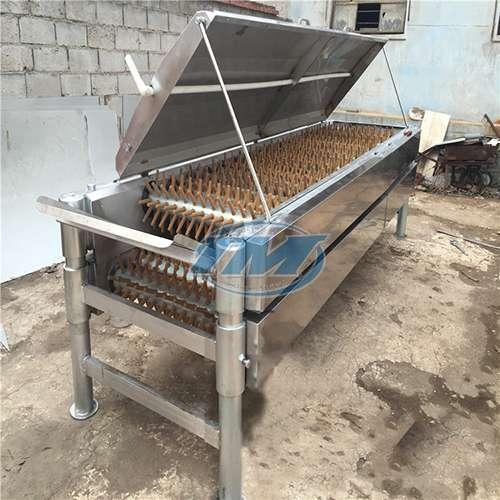 Máy vặt lông gia cầm, gia súc công nghiệp (500kg – 1 tấn/h) (TMTP-H12)
