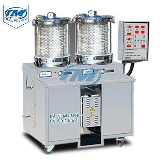 Máy sắc thuốc và đóng gói 2 nồi áp suất YY-WW2+1 (TMND-G05)
