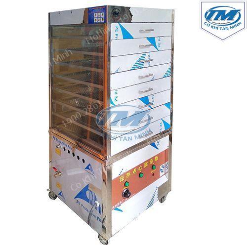 Tủ hấp bánh bao dùng điện 8 khay (TMTP-QA04)