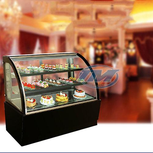 Tủ trưng bày bánh kem kính cong 3 tầng 1.8m (TMTQ-A14)