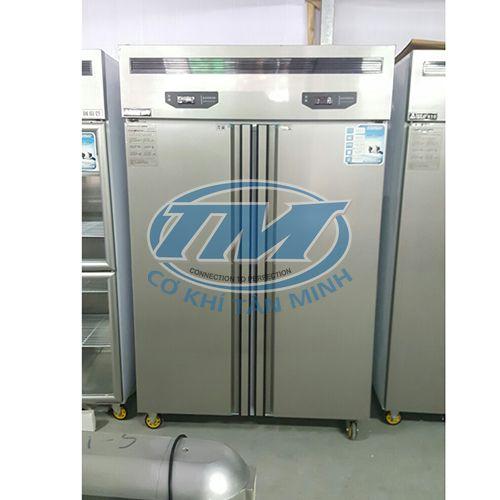 Tủ mát inox 2 cánh (chạy 2 lốc lạnh) (TMTP-PC23)
