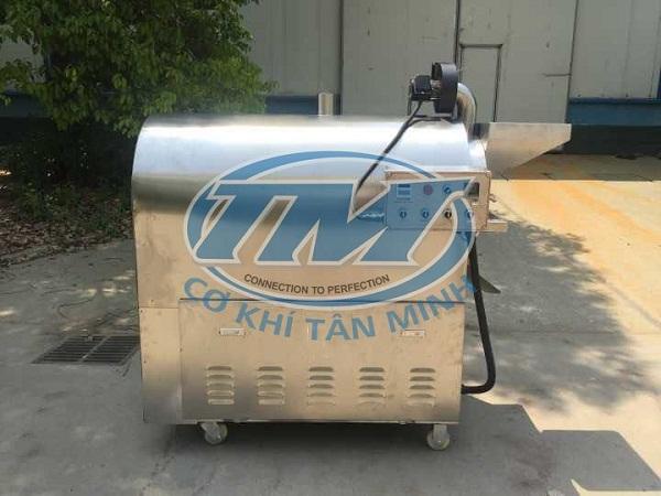 Máy rang hạt LQ30X dùng điện (Inox) 15 kg/mẻ