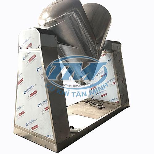 Máy trộn bột khô chữ V 1000 lít (Inox 304) (TMTP-LA67)