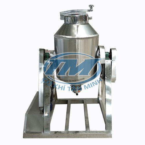 Máy trộn bột khô dạng trống 100 kg/mẻ (Inox) (TMTP-LA61)