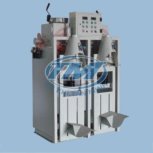 Máy đóng bao bán tự động công nghiệp 2 vòi (TMĐG-I56)