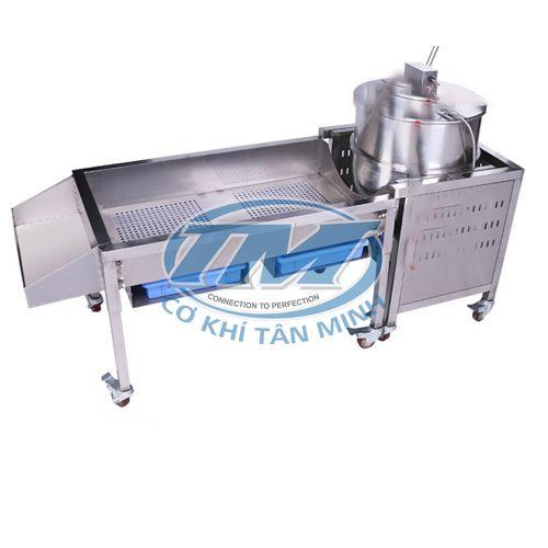 Máy làm bắp rang bơ dùng gas 500gram/mẻ (TMTP-NA14)