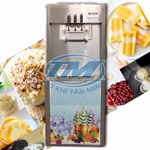 Máy làm kem tươi  1 lốc 3 vòi (TMTP-PA20)