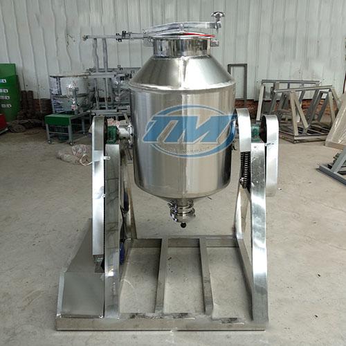 Máy trộn bột khô dạng trống 50 kg/mẻ (Inox) (TMTP-LA64)