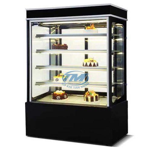 Tủ trưng bày bánh kem kính phẳng 5 tầng 1.5m (TMTQ-A10)