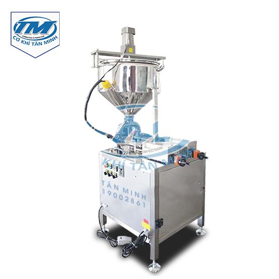 Máy chiết rót dung dịch sệt 2 vòi có gia nhiệt và cánh khuấy (TMDC-D50)