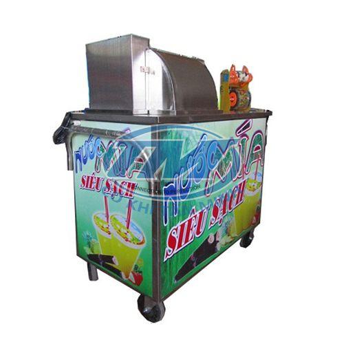 Máy ép nước mía 1 cây bàn dài moto mới (TMTP-OD05)