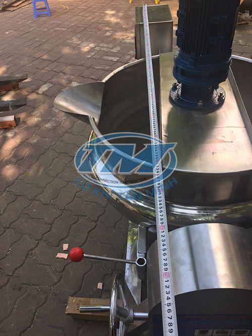 Nồi nấu công nghiệp có cánh khuấy 200 lít (TMCN-AD05)