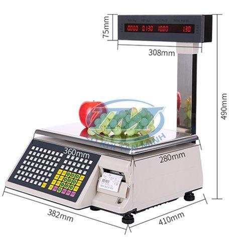 Cân điện tử in hoá đơn loại 30 kg (TMDC-DI05)
