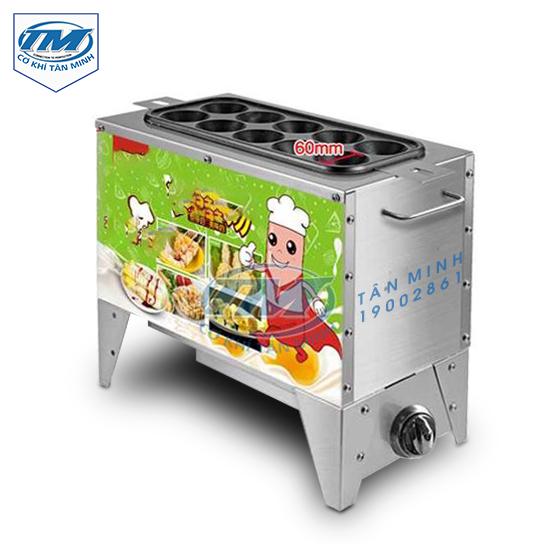 Máy làm bánh trứng cuộn dùng gas (TMTP-LD12)