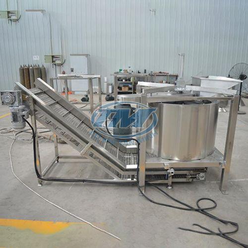 Máy vắt dầu li tâm + Băng tải sản phẩm hoàn thành (TMTP-RA11)