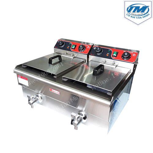 Bếp chiên đôi 26 lít có vòi (TMTP-NB48)
