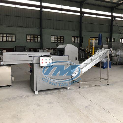 Máy cắt thịt đông lạnh có băng tải (TMTP-E40)