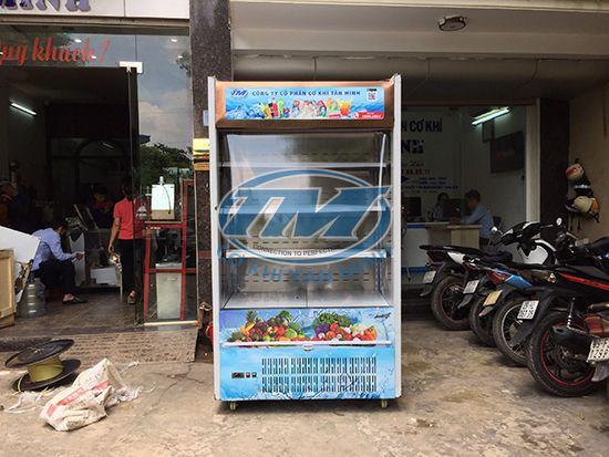 Tủ mát trưng bày siêu thị cao cấp 1.2M (TMTQ-A33)