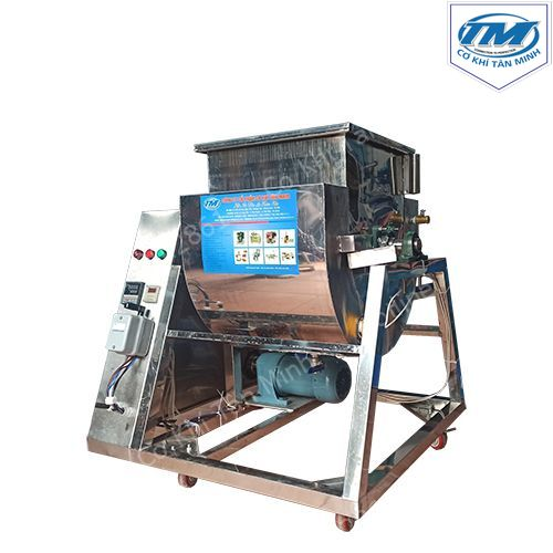 Máy trộn bột thực phẩm 50 Kg/mẻ có gia nhiệt (TMTP-LA24)