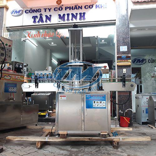 Máy siết nắp chai tự động (cấp nắp thủ công) (TMDC-DA17)