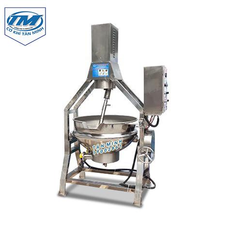 Nồi nấu công nghiệp có cánh khuấy lệch tâm loại 100L (TMCN-AD01)