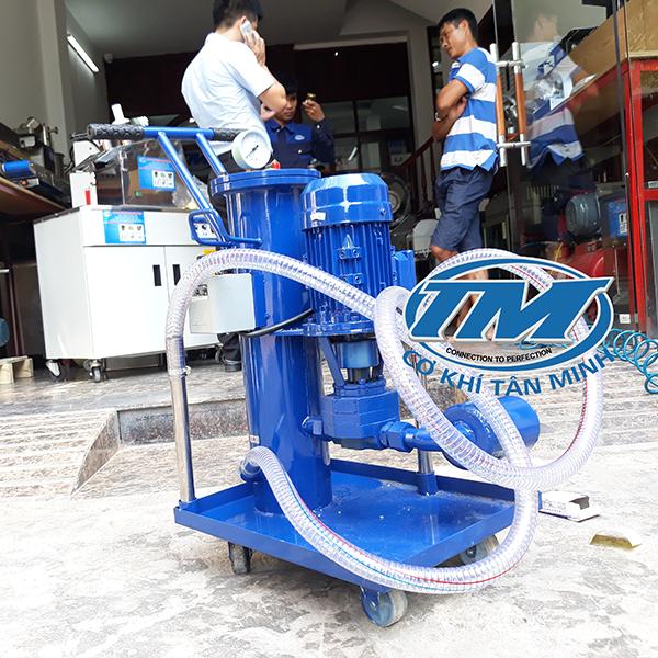 Máy lọc dầu nhớt, dầu thủy lực liên tục (TMTP-RA10)