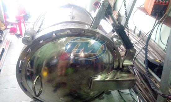 nồi hấp tiệt trùng TMSX 400L TMCN-AF02