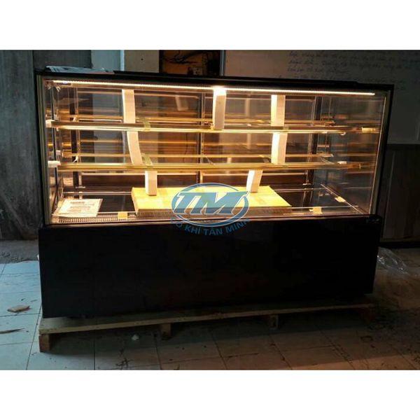 Tủ trưng bày bánh kem kính phẳng 3 tầng 90 cm (TMTQ-A15)