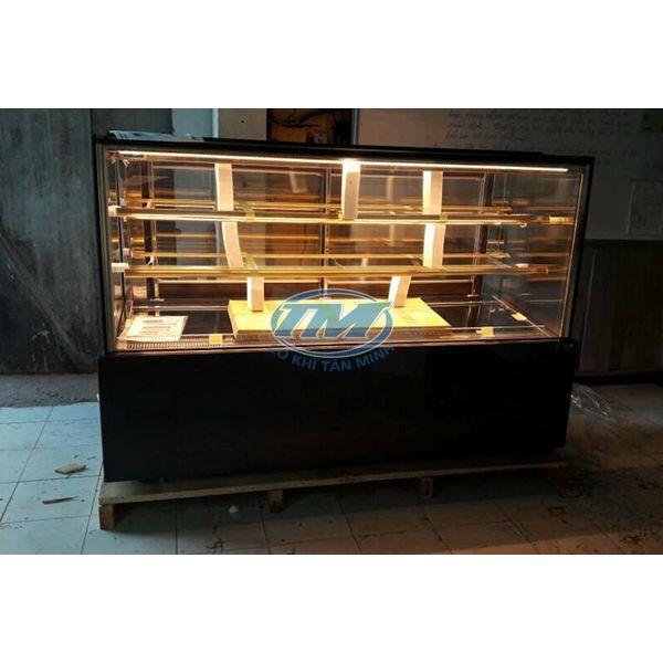 Tủ trưng bày bánh kem kính phẳng 3 tầng 1.5 m (TMTQ-A23)