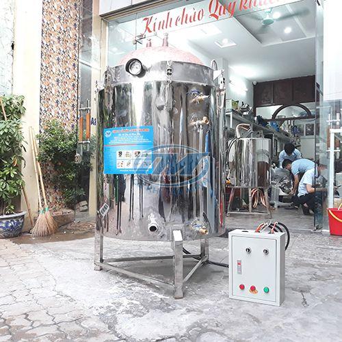 Nồi nấu rượu đa năng ruột đồng 80kg/mẻ (TMCN-AC09)