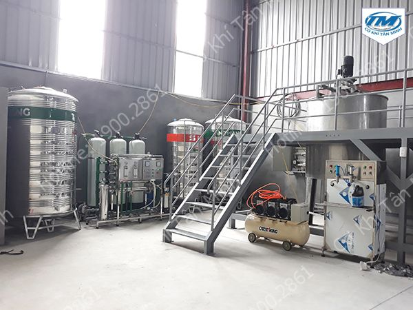 Dây chuyền lọc nước 1200L (TMDC-B22)