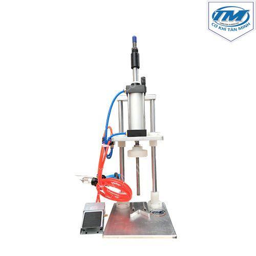 Máy dập nắp chai khí nén bán tự động (nắp ấn) (TMDC-DA07)