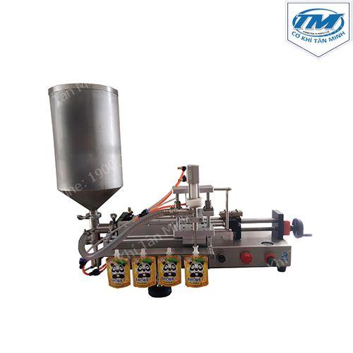 Máy chiết rót bán tự động dung dịch sệt túi có vòi (TMDC-D40)