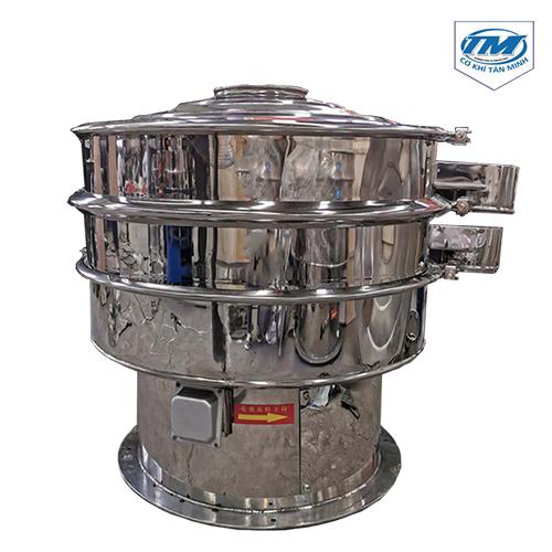 Máy sàng rung 1 tầng sàng 2 cửa xuất liệu đường kính 1200mm ( TMND-H10)