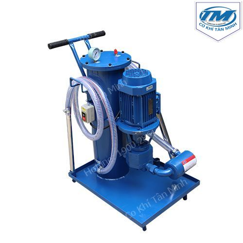 Máy lọc dầu nhớt, dầu thủy lực liên tục Max 1000L (TMTP-RA10A)