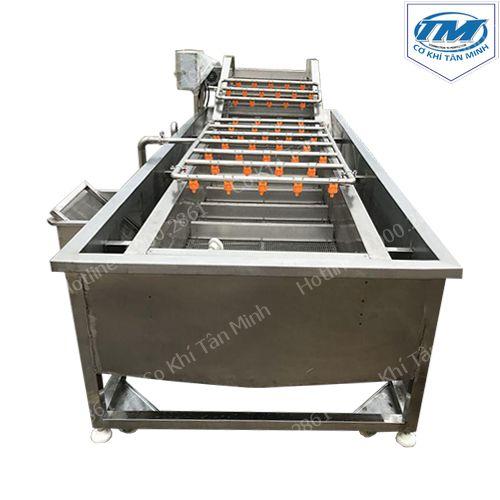Máy rửa rau củ quả 50-100kg/h (INOX304) (TMTP-OB09)