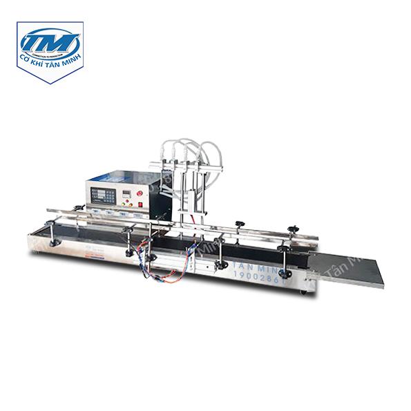 Máy chiết rót dung dịch lỏng 4 vòi 100-500 ml (TMDC-D13)