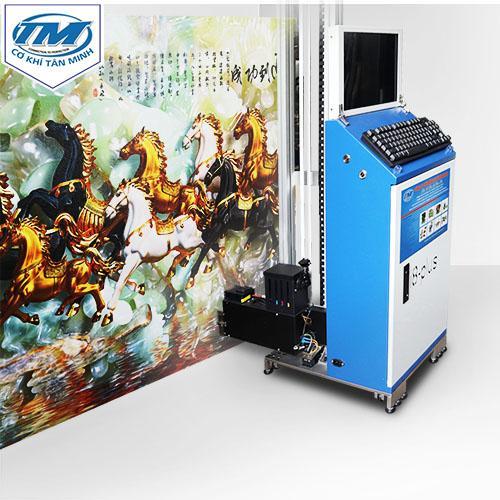 Máy in tranh tường 3d 5 màu mực (in chi tiết trắng trên nền màu) (TMĐG-D04B)