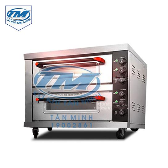 Lò nướng bánh 2 tầng độc lập Lecon (TMTP-I43)