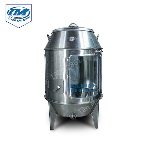 Lò quay vịt dùng than có kính 80 cm (TMTP-I47)